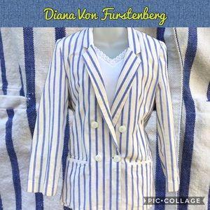 Diane Von Furstenberg Double-Breasted Blazer